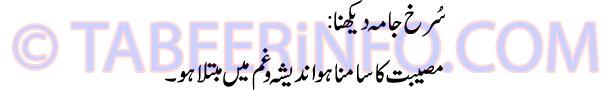 surakh-jama-dekhna-tabeer