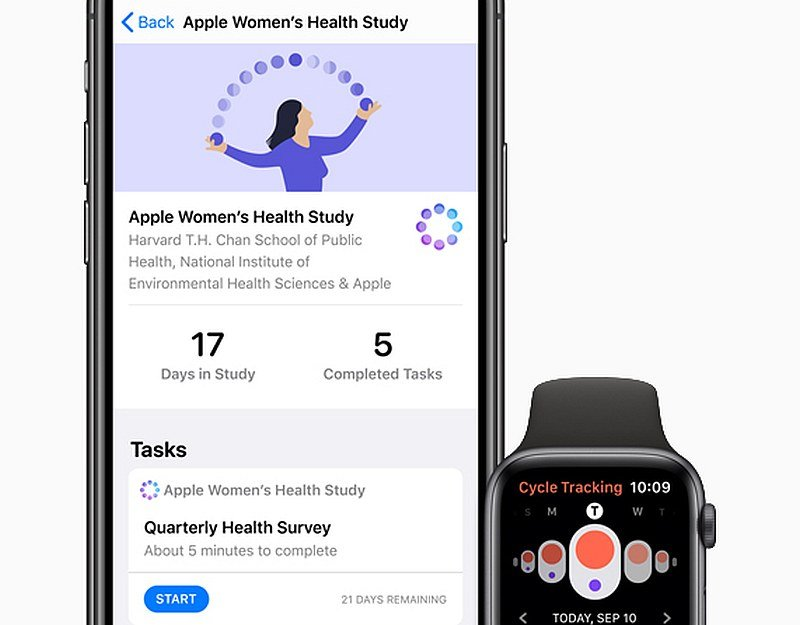 Apple new Research app helps users track health