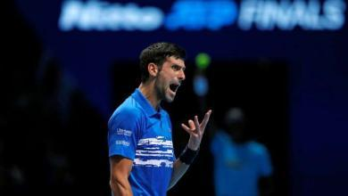 Photo of Djokovic romps to victory in ATP Finals opener