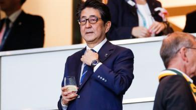 Photo of Japan's Abe ties record for longest-serving PM