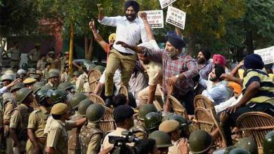 Photo of Sikhs in India up in arms