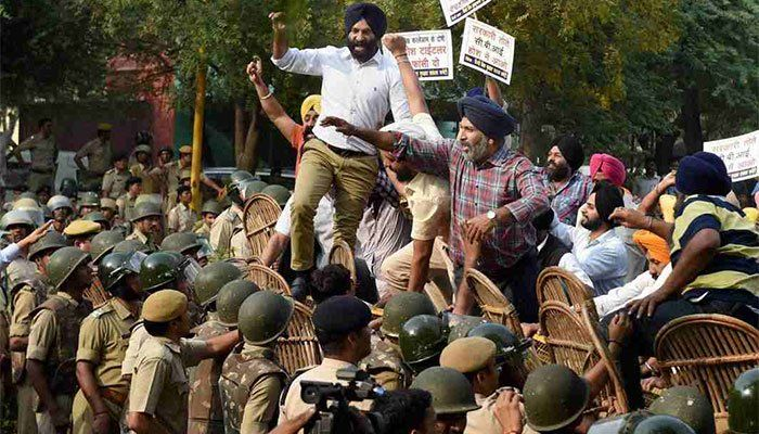 Sikhs in India up in arms