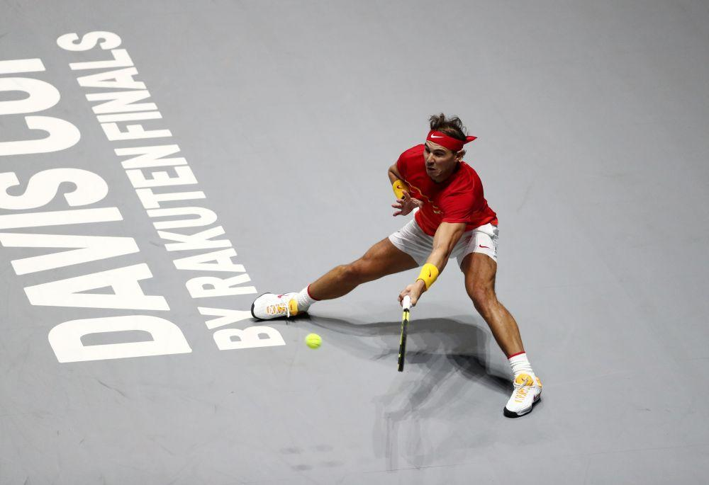 Spain Australia cruise into Davis Cup last eight