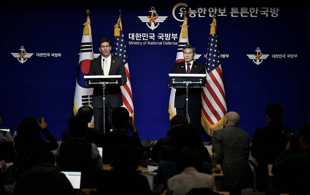 US, S. Korea break off defence cost talks amid backlash over Trump demand