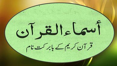 Quran Name